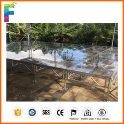 Bewegliches annehmbares Aluminiumstadium für im Freienereignisse