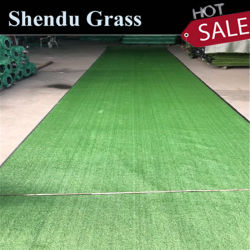 人工芝生 10 mm 、単一バッキング SBR ラテックス環境 フレンドリー