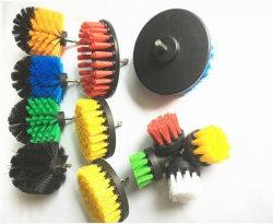 Fußboden-Reinigungs-Pinsel-Bohrung-Pinsel mit Farben-Nylonborste-korrosionsbeständiger schneller Änderungs-Welle mit unterschiedlicher Zweck-Auto-Reinigung