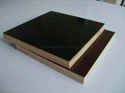 12мм 18мм Тополь Core черной пленкой, с которыми сталкиваются фанера для строительства