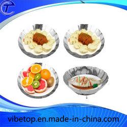 En acier inoxydable de haute qualité Assiette de fruits de la variété des formes