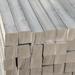 6061/6063/6106/6065/6082 ligero y de elevada dureza barra cuadrada de aluminio