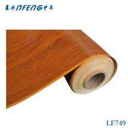 Langfeng LF749 Decoración Film de PVC plastificado barniz para muebles de la consola de armario de puerta