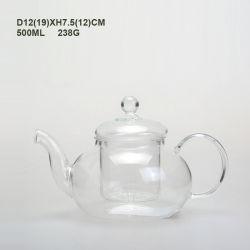 Классическая модель Китая стороны перегорел стеклянный сосуд высокого боросиликатного стекла кофе/чайник