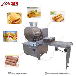 De Omslag die van het Broodje van de Lente van de Prijs van de fabriek de Constructeur Van machines maken/van de Huid Injera/de Machine van Roti van de Chapati van de Tortilla omfloersen