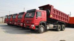 Efficiënt die Vervoer voor Vrachtwagen van de Stortplaats van de Lading van Afrika China Sinotruk HOWO 6*4 de Zelf wordt gebruikt