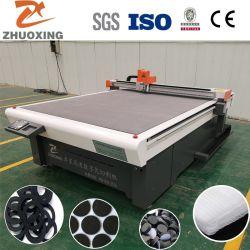 中国サプライヤ自動供給非金属ガスケット / ゴム / EVA / EPE アスベストフリーファイバゴム /PTFE/ 金属 - 非金属 複合ガスケット切削機械価格
