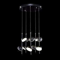 أحدث مصابيح بندول LED عصرية بسيطة أكريليك (AQ-66062-5R)