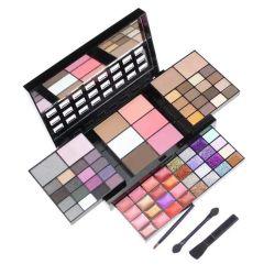 Beauté cosmétiques Palette fard à paupières Définir palette 74 Color Make up 36 Ombre à paupières + 28 brillant à lèvres +6 Blush +4 Concealer kit de maquillage