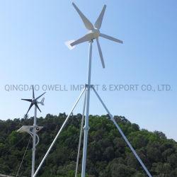 Wind Power 300W, 600W, 1kw, 2kw, 3kw, 5kw, 10kw génératrice éolienne hors réseau avec la CE, l'ISO