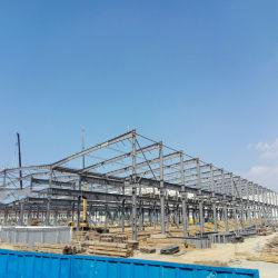 La construcción de la estructura de taller de acero galvanizado de acero estructural ASTM la construcción de los planes del proyecto