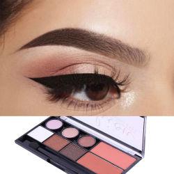 L'ombra di occhio di scintillio della perla di 6 colori con colore 3 arrossisce ombra