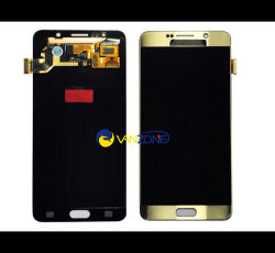 Visor LCD de tela digitalizadora de toque para a Samsung Galaxy Nota 5 N920F N920A N920t ecrã LCD