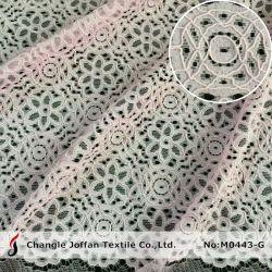 Merletto del ricamo del tessuto del merletto di Raschel del tessuto del vestito per i vestiti da cerimonia nuziale (M0443-G)