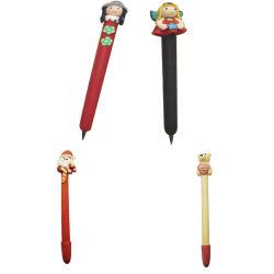 작은 캐릭터 모양 귀여운 장난감 젤 펜
