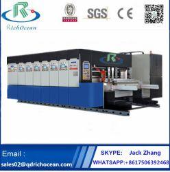 自動高速Flexoの回転式型抜きの印刷のスロットマシン(スタッキング)