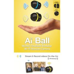Nuevo Trek Ai-Ball Cámara IP de seguridad Wireless WiFi Mini Cámara Web Cam cámara de vigilancia a distancia