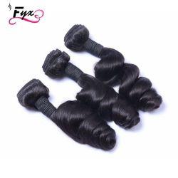 卸し売り人間の毛髪は人間の毛髪の拡張人間の毛髪のよこ糸を束ねる