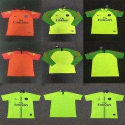 Venda por grosso de 2019 Paris S-a-I-N-T-G-E-R-M-a-I-N Putian Soccer Goleiro Goleiro Cortar camisolas