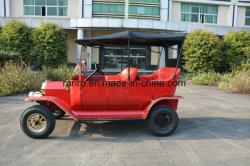Automobile elettrica di disegno di golf dell'oggetto d'antiquariato astuto robusto unico del carrello