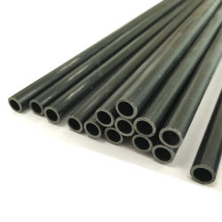 Q195 Q235 Mobilier noir de carbone à paroi mince tuyau en acier rond