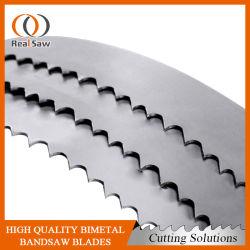 M51 de Metal de hoja de sierra de HSS de trabajo de la correa para el corte de metal duro