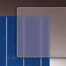 Panneau solaire en verre trempé/Ultra clair Verre Solaire de flottement de 3,2 mm