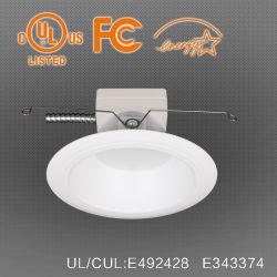 UL /FCC /Energy 별에 의하여 아래로 6 인치 내화성이 있는 LED 가벼운 승인되는