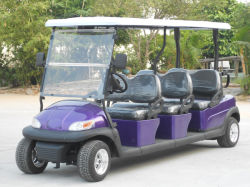 أسعار الزجاج الأمامي القابلة للطي سيارة جولف كهربائية لملعب الجولف (A1S6)