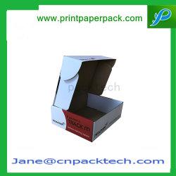Пользовательские E-флейты бумаги подарок складной плоский Pack Cupcake торт продовольственной упаковке