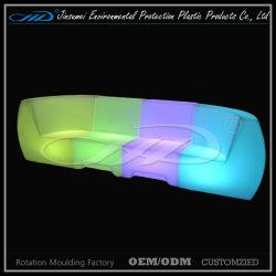 Ensembles de meubles modernes en plastique conduit avec des canapés 2 bar