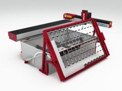 Machine de découpe jet d'eau de l'acier au carbone Cutters Prix d'aluminium métallique