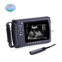 Ordinateur de poche haute résolution du scanner à ultrasons à usage vétérinaire pour animaux