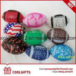 Мягкие Beanbag из ПВХ с возможностью горячей замены, Beanball, Детский жонглирование регби мяч для сувениров и подарков