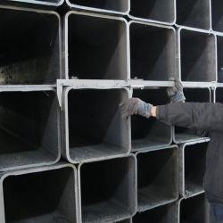 Schwarzes Quadrat-Höhlung-Kapitel-Kohlenstoffstahl-Rohr, galvanisiertes Stahlrohr