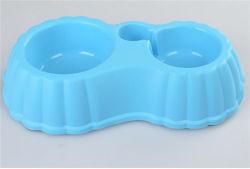 새로운 더블 대형 플라스틱 애완동물 그릇