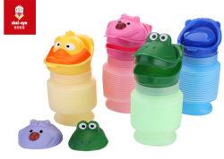 Bande dessinée en plastique cute baby Potties Portable de la formation de l'urine permanent toilette pour bébé