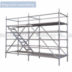 Electro Galvanized 및 Hot DIP Galvanized Q235 Q345 Steel Material Spare Parts Name for Ringlock Scaffolding System 비계 with SGS, ISO