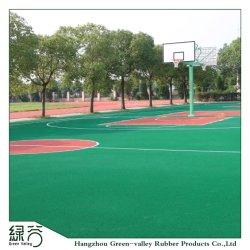 Corte di gomma superiore di sport della base della stuoia di EPDM per pallacanestro/tennis/Vollyball/volano