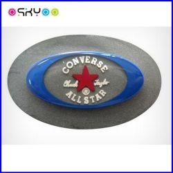 Logo de Marque 3D personnalisé PVC étiquette du vêtement en caoutchouc de silicone