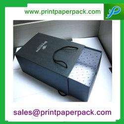 Vakje van de Gift van de Lade van de Ambacht van de douane het Stijve & Zak, het Vakje van de Verpakking van de Opslag van Juwelen, het Stijve Kosmetische Vakje van het Document van de Pruik van Juwelen, Thee/Koffie Afgedrukt Verpakkend Vakje