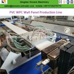 PVC Fibre de bambou Plafond carte du panneau mural Machines de fabrication