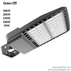 Kommerzielle allgemeine Straßenlaternedes Beleuchtung-Schuh-Kasten-LED für Licht des Parkplatz-100W