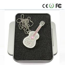 Индивидуальные гитара дизайн флэш-накопитель USB 2.0 (ZBJT)