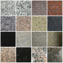 도매 옐로우/화이트/그레이/레드/블랙 그래나이트 스톤 내추럴 스톤 플로어 타일