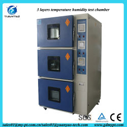 3 Layers Constant TemperatureおよびHumidity Test Cabinet