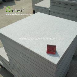 "24""x24"" Superfície Flamed azulejos em mármore branco Neve"