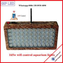 Het koraalrif Gebruikte 120W 165W LEIDENE Licht van het Aquarium voor Distributie