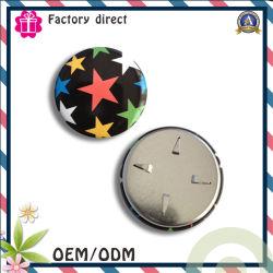 Equipo estrella colorida imagen Hierro redondo Llavero Decoración Star Badge
