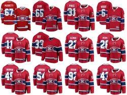 Монреаль Canadiens фанатики под маркой Красного дома разрывной Custom хоккей футболках NIKEID